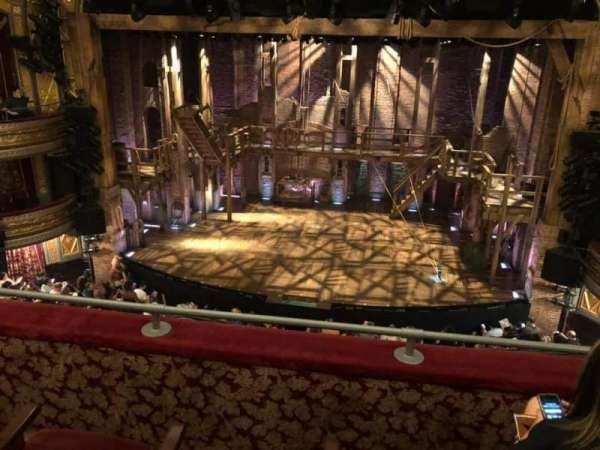 Richard Rodgers Theatre, section: Front Mezzanine C, row: C, seat: 103