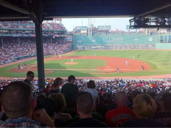 Fenway Park, section: Grandstand 15