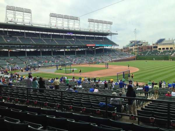 Wrigley Field, section: 236, row: 5, seat: 108