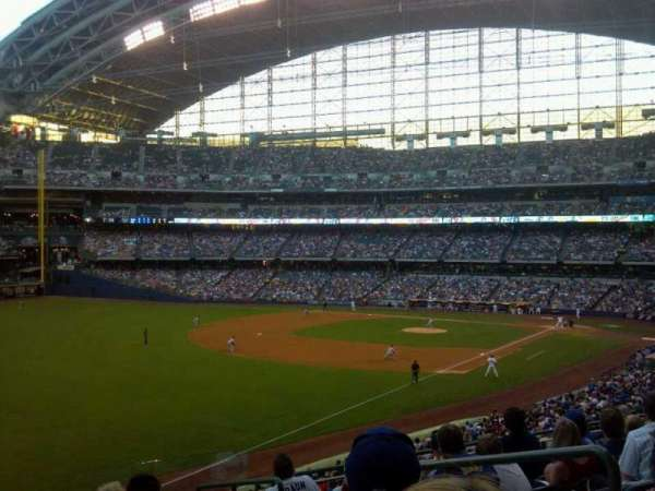 Miller Park, section: 231, row: 8, seat: 3