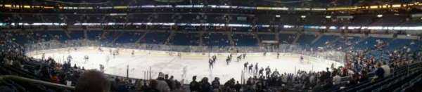 Amalie Arena, section: 122, row: K, seat: 25