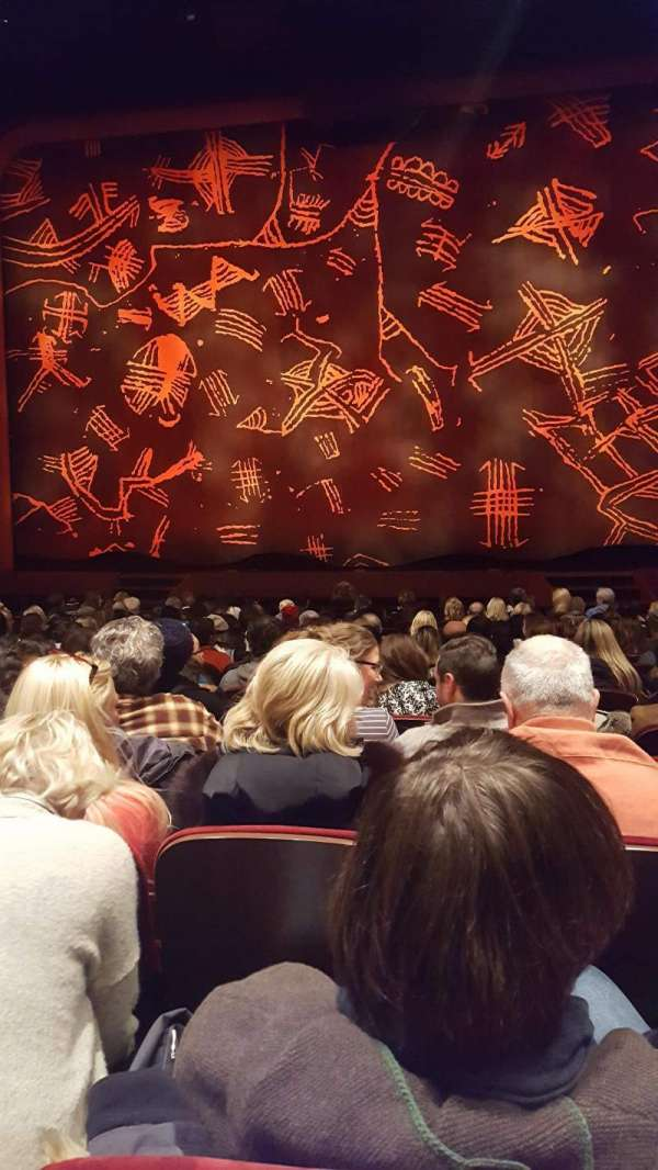Minskoff Theatre, section: Orchestra C, row: O, seat: 119