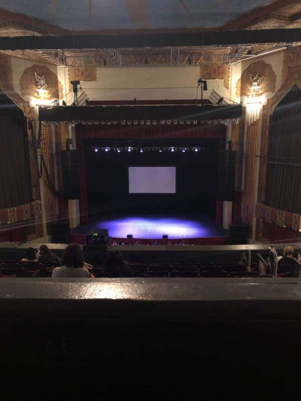 Paramount Theatre (Denver), section: BALC C, row: H, seat: 11