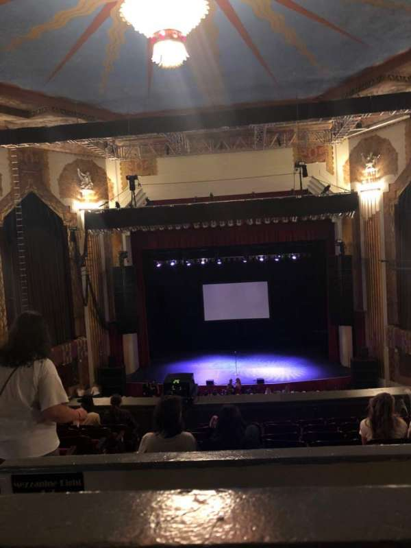 Paramount Theatre (Denver), section: Balcony C, row: H, seat: 10