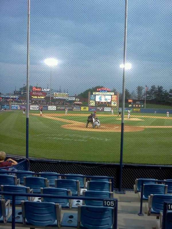 FirstEnergy Stadium (Reading), section: 205, row: 3, seat: 3