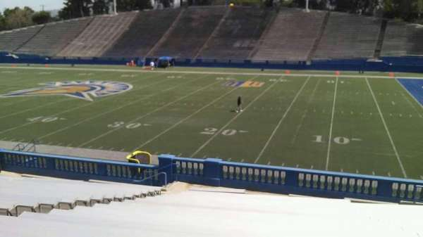 CEFCU STADIUM, section: 108, row: 26, seat: 19