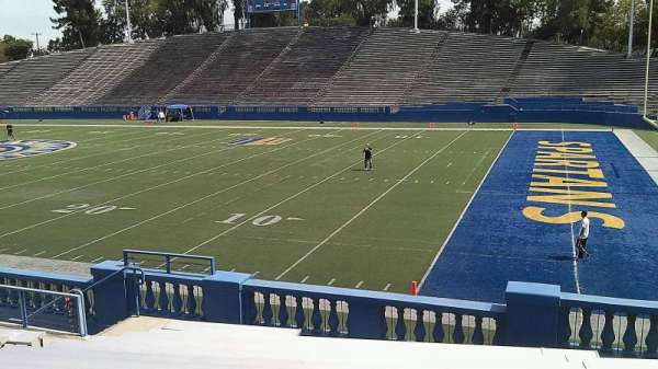 CEFCU STADIUM, section: 107, row: 18, seat: 33