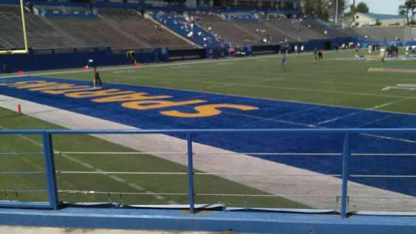 CEFCU STADIUM, section: 135, row: 5, seat: 17