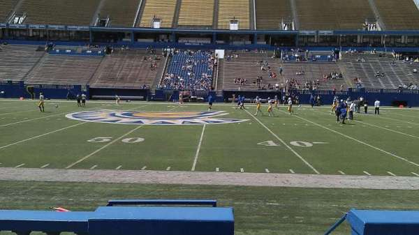 CEFCU STADIUM, section: 130, row: 5, seat: 1
