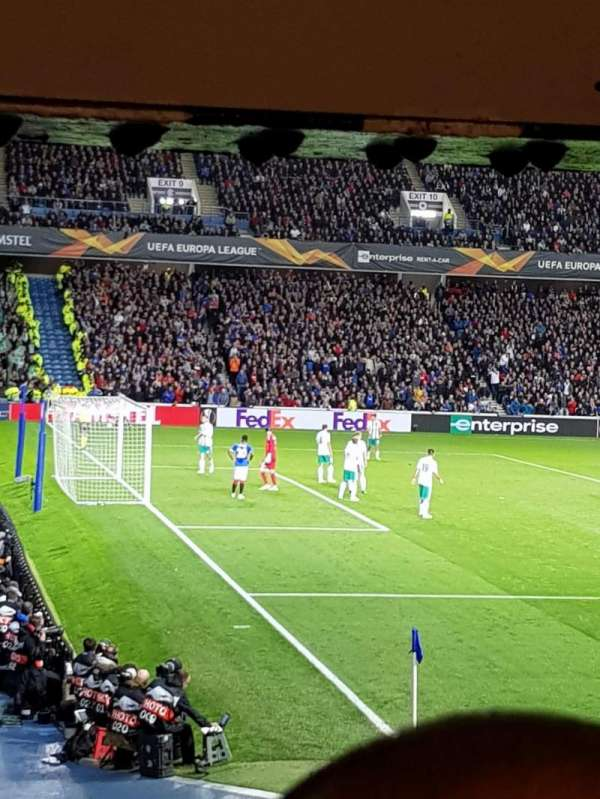 Ibrox Stadium , section: Sw5, row: X