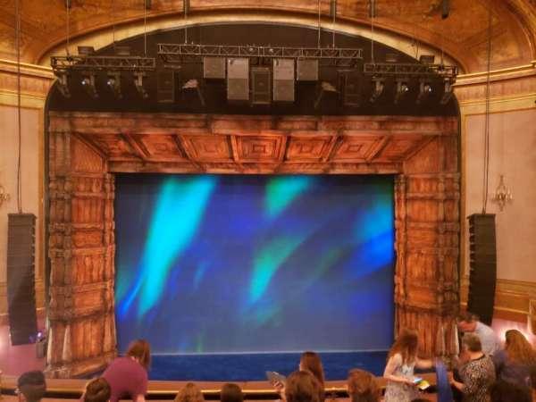 St. James Theatre, section: Mezzanine C, row: G, seat: 107