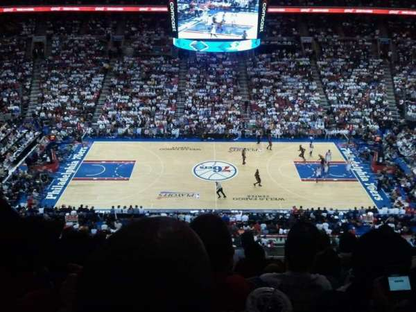 Wells Fargo Center, section: 201, row: 7, seat: 4