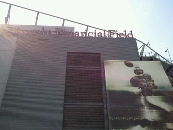 Lincoln Financial Field, section: East Club & Suite Entry