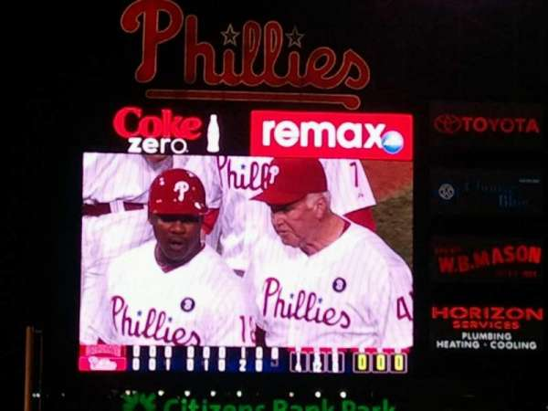 Citizens Bank Park, section: 317, row: 2, seat: 5