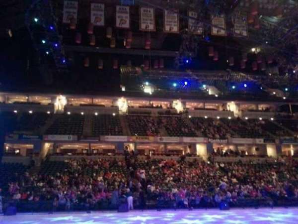 Bankers Life Fieldhouse, section: 18, row:  3, seat:  7