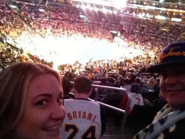 Staples Center, section: PR10, row: 10, seat: 1