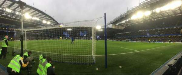 Stamford Bridge, section: Shed End Lower 4, row: 1, seat: 102