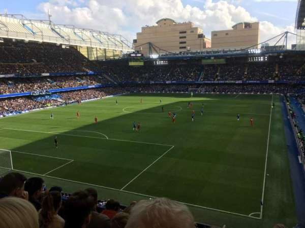 Stamford Bridge, section: Matthew Harding Upper 9, row: G, seat: 317