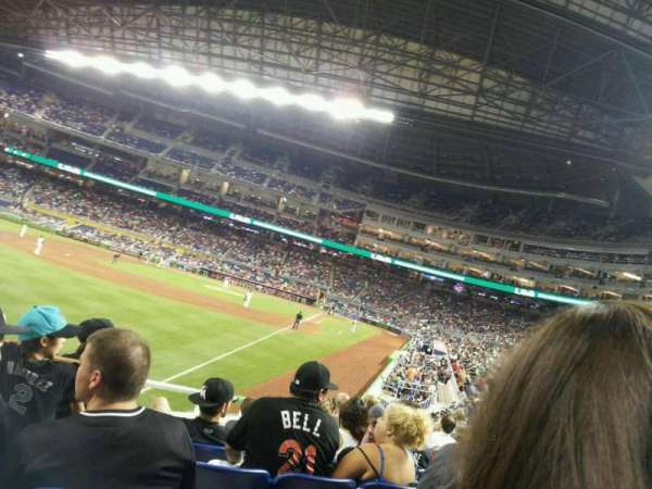 Marlins Park, section: 27, row: 5, seat: 11