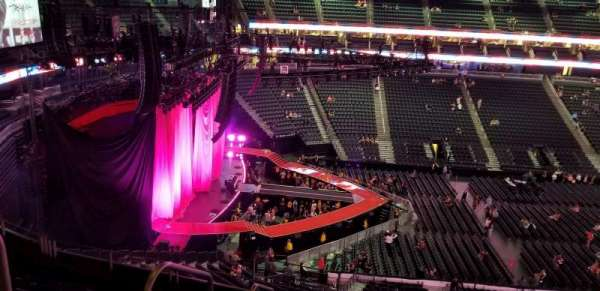T-Mobile Arena, section: 203, row: g, seat: 2