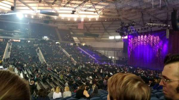 Tacoma Dome, section: 118, row: q, seat: 16