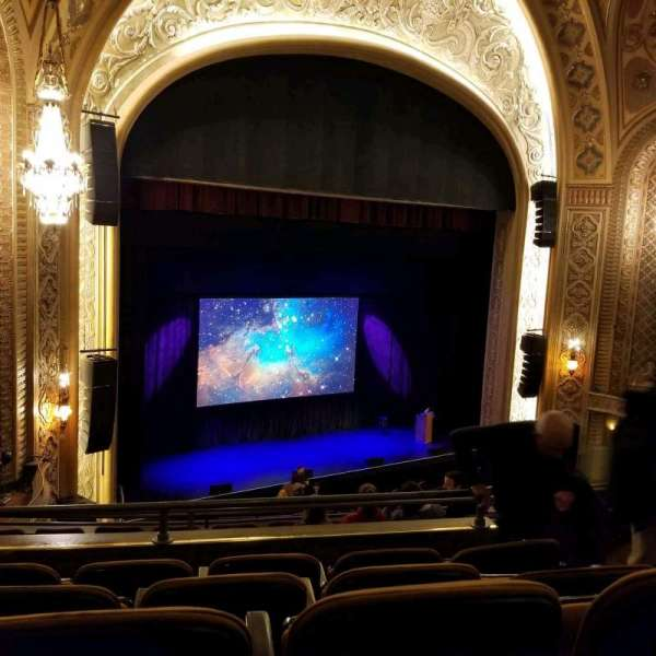 Paramount Theatre (Seattle), section: Mezzanine 15, row: e, seat: 6