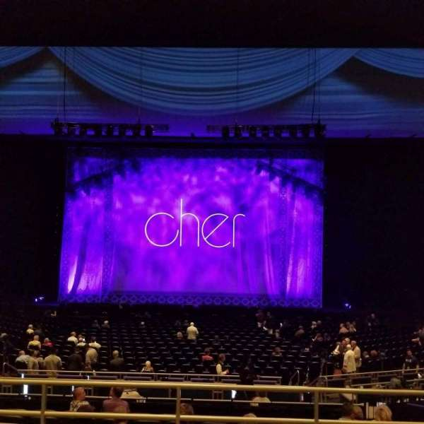 Park Theater at Park MGM, section: 304, row: d, seat: 9
