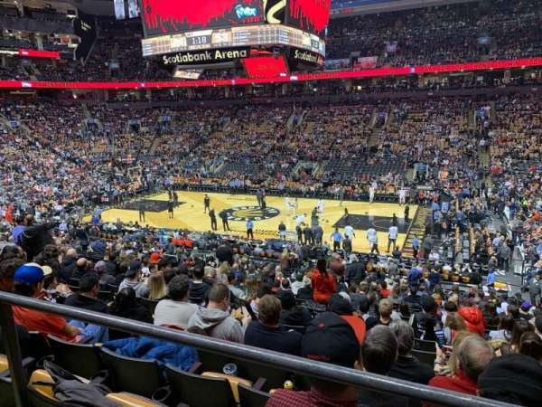 Scotiabank Arena, section: 118, row: 24?, seat: 4?