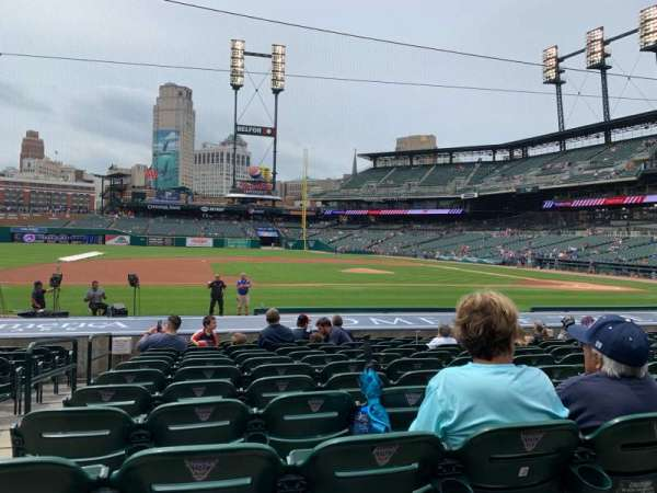 Comerica Park, section: 334, row: 18, seat: 15