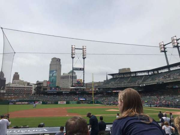 Comerica Park, section: 334, row: 18, seat: 16