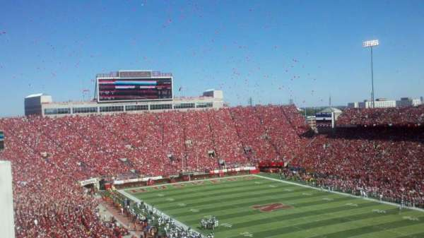 Memorial Stadium (Lincoln), section: 221