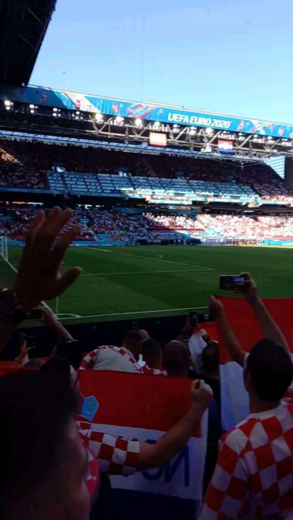 Parken Stadium, section: c2, row: 9, seat: 3