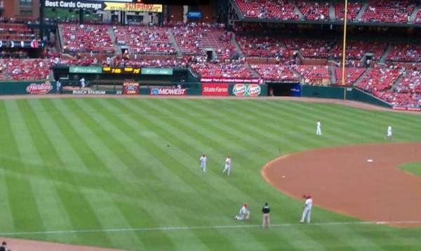 Busch Stadium, section: 361