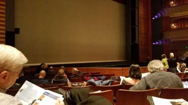 Ordway Center for the Performing Arts - Music Theater, section: Orchestra, row: Q, seat: 111