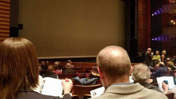 Ordway Center for the Performing Arts - Music Theater, section: Orchestra, row: Q, seat: 110