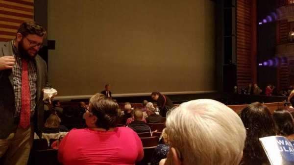 Ordway Center for the Performing Arts - Music Theater, section: Orchestra, row: Q, seat: 112