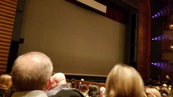 Ordway Center for the Performing Arts - Music Theater, section: Orchestra, row: Q, seat: 109