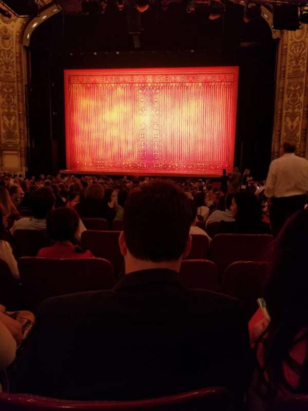 Cadillac Palace Theater, section: Orchestra C, row: U, seat: 119