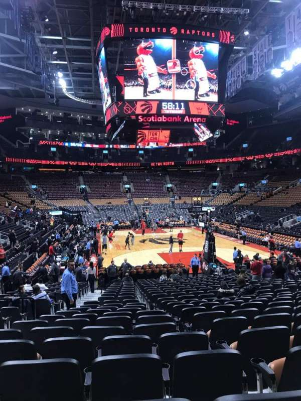 Scotiabank Arena, section: 114, row: 15, seat: 13