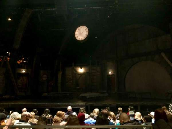 The Newman Mills Theater, section: Orchestra, row: G, seat: 14
