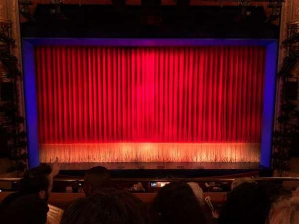 Longacre Theatre, section: Mezzanine C, row: D, seat: 108