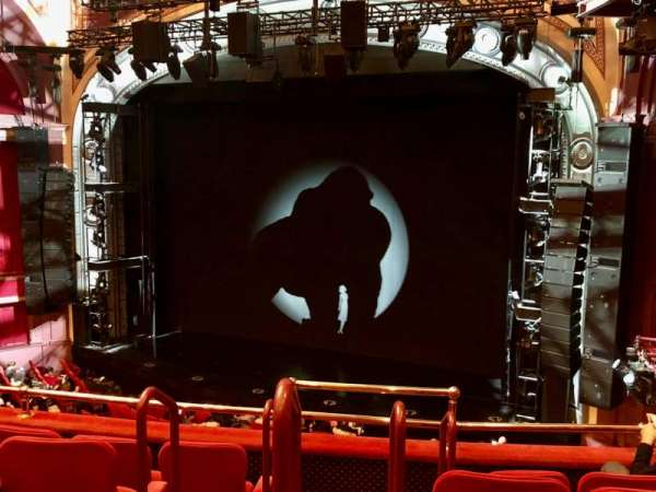 Broadway Theatre - 53rd Street, section: Right Front Mezzanine, row: E, seat: 3