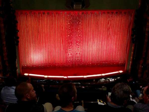 New Amsterdam Theatre, section: Balcony C, row: G, seat: 114