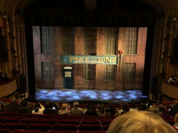 Al Hirschfeld Theatre, section: Mezzanine C, row: M, seat: 108