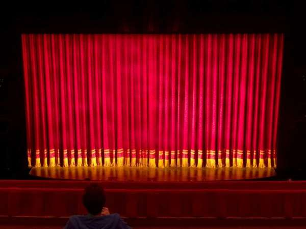 Cadillac Palace Theater, section: Balcony Center, row: J, seat: 316