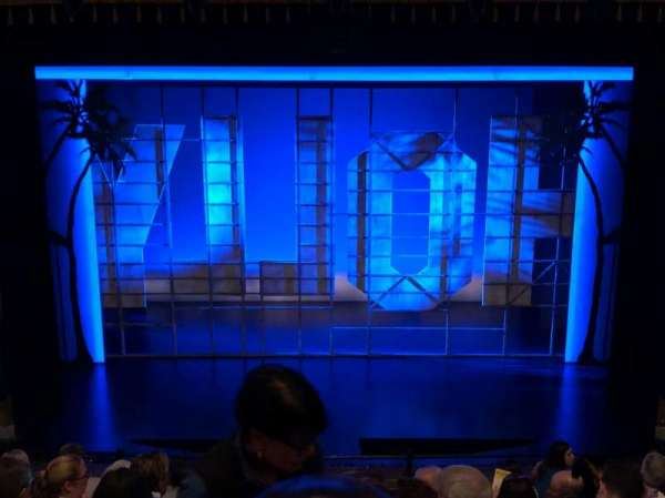 Nederlander Theatre, section: Mezzanine C, row: J, seat: 108