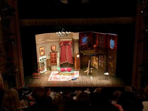 Lyceum Theatre (Broadway), section: Center Mezzanine, row: G, seat: 106