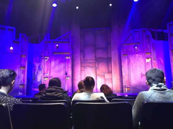New World Stages - Stage 5, section: Center Orchestra, row: F, seat: 10