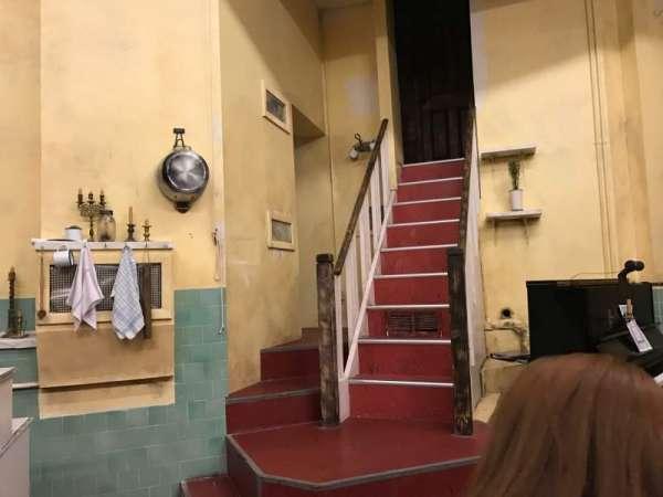 Barrow Street Theatre, row: C, seat: 11