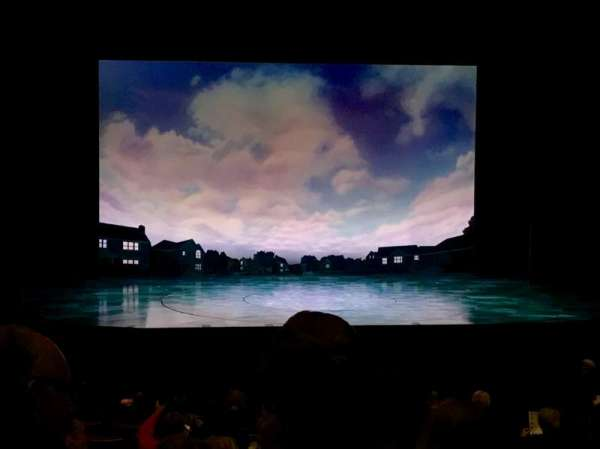 La Jolla Playhouse, row: O, seat: 25